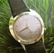 Image of VINTAGE 14K SOLID GOLD HAMILTON SPECTRA - SOLD!