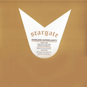 "Image of STARGATE ""Hexplore Superfluidity"" One Sided LP"