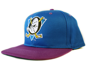 Image of Anaheim Mighty Ducks Vintage Snapback in Blue