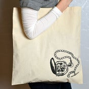 "Image of ""Baltimore / Pocketwatch"" Cotton Tote"