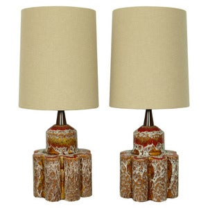 Image of The Hudson Twins - Restyled Vintage Table Lamps