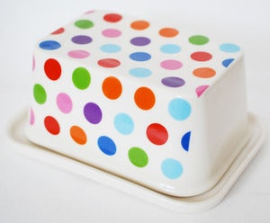 Image of Polkadot Butter Dish
