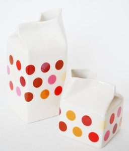 Image of New Polkadot Milk Jug