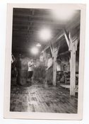 Image of MOODY GI PARTY IN BARRACKS VINTAGE SNAPSHOT PHOTO