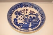 Image of Blue and White Pagoda Bowl