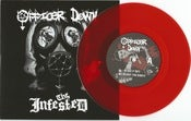 "Image of Officer Down/The Infested Split 7"" Vinyl"