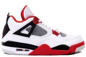 Image of Nike Air Jordan 4 Fire Red