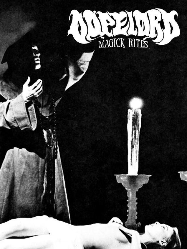 Image of Dopelord - &quot;Magick Rites&quot; (Cassette)