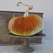 "Image of Velvet Plush Pumpkin 8"" Single"