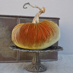 Image of Velvet Plush Pumpkin 8&quot; Single