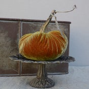"Image of Velvet Plush Pumpkin 6"" Single"