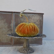 Image of Velvet Plush Pumpkin 5&quot; Single