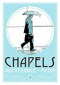 Image of Chapels - Admittance  Screenprint+Download