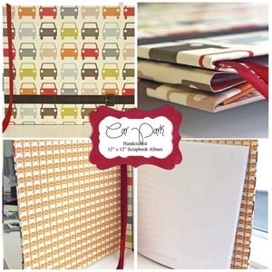 Image of Orla Kiely - Car Park Scrapbook / photo album