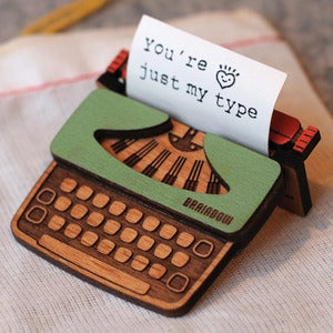 Image of Typewriter Brooch