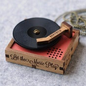 Image of Wooden Record Player
