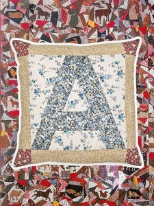 Image of Small Alphabet Cushion