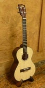 Image of Kala Solid Spruce/Mahog Tenor with padded uke bag