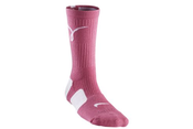 Image of  Nike Breast Cancer Kay Yow Elite Crew Basketball Socks