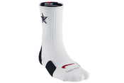 "Image of Nike Elite 2.0 (USA) ""OLYMPIC"" Crew Basketball Socks - Navy"