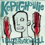 "Image of Kepi Ghoulie ""I Bleed Rock & Roill"" LP - EUROPEAN EDITION!!!"
