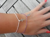 Image of Simple Cross Bracelet