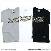 Image of Filter017 LAND OF LOST CAMOUFLAGE LOGO TEE