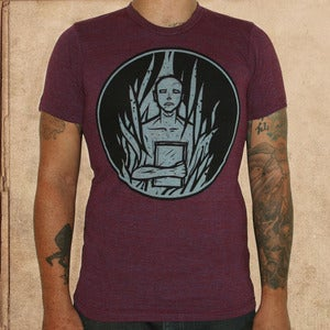Image of Fahrenheit 451 - tri-cran - discharge inks - unisex - restocked