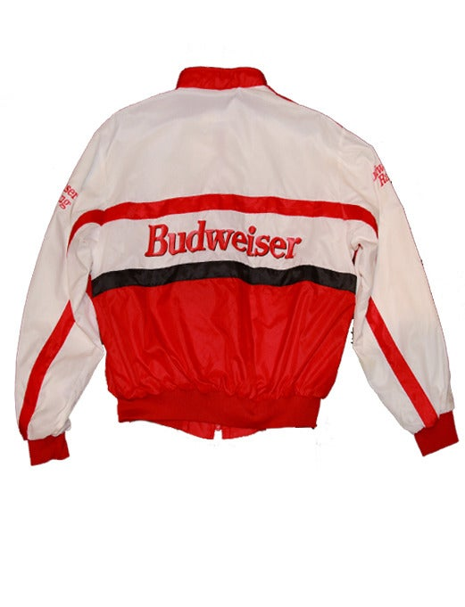 Image of Vintage Budweiser Racing Jacket