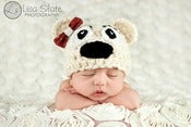 "Image of Un ""Bearably"" cute Chunky Bear Beanie"