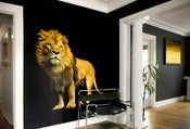 Image of LION WALL ART