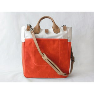 Image of Garrison Bag (Natural/Flame)