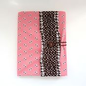 Image of covered notebook - peachy pink