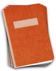 Image of Scout Book 3Pack - Orange