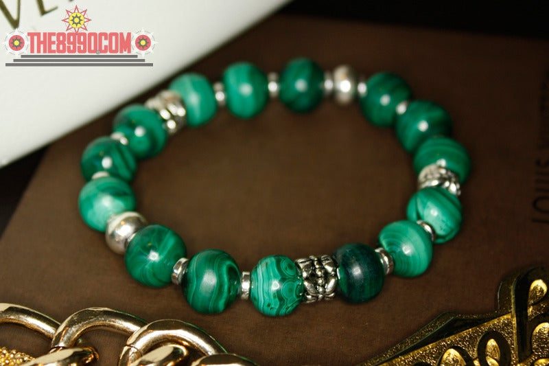 Image of MALACHITE Bracelet x Glenda Collings