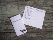 Image of Sheep Care/Launder Gift Tags—for your hand-knit treasures
