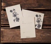 Image of Invitation Packs {Postcard} with Envelopes