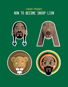 Image of Snoop Lion in Four.