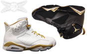 Image of Jordan GOLDEN MOMENTS Pack 6/7