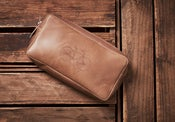 Image of Leather Travel Bag / Wallet