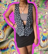 Image of Floral Print Vest