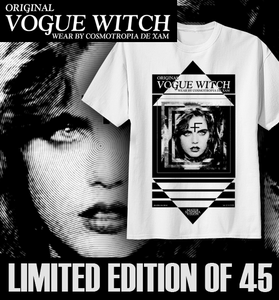 Image of VOGUE WITCH Mater Suspiria Vision T-SHIRT ≠ CROSSED FACE ≠
