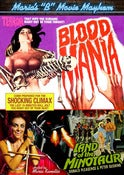 Image of MARIA&amp;#x27;S B MOVIE MAYHEM: BLOOD MANIA + LAND OF THE MINOTAUR