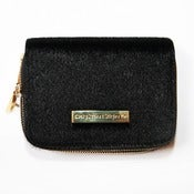Image of Pony Hair Double Zip Wallet