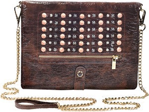 Image of Elizabeth - Studded Brown