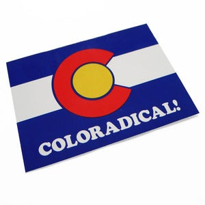 Image of Coloradical Colorado Flag Sticker