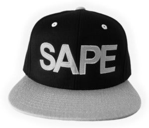 Image of Bold &quot;SAPE&quot; Snapback