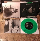 Image of STRESSORS - S/T 7&quot; (CA HC / LTD 330)