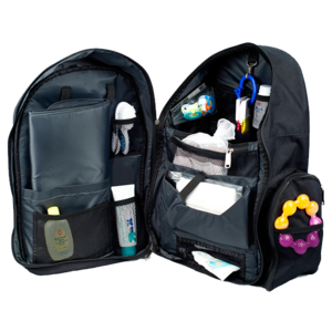 Image of Depot Diaper Bag in Black