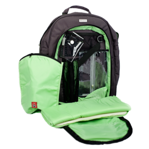 Image of Backpack Diaper Bag in Gray